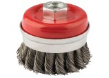 60mm x M14 Twist Knot Wire Cup Brush