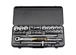 "1/2"" Square Drive Elora Metric Socket Set (25 Piece)"
