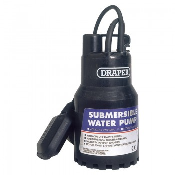 120L/Min 110V Submersible Water Pump with 6M Lift and Float Switch (200W)