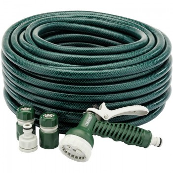 12mm Bore Garden Hose and Spray Gun Kit (30M)