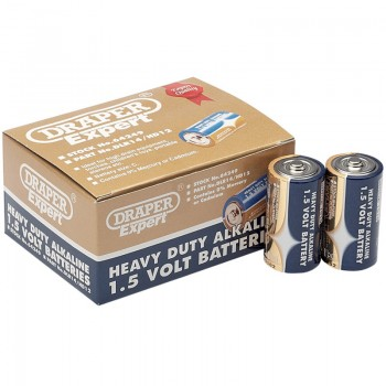 Trade Pack of 12 C-Size Heavy Duty Alkaline Batteries