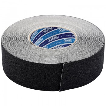 18M x 50mm Black Heavy Duty Safety Grip Tape Roll