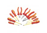 Fully Insulated Pliers and Screwdriver Set (10 Piece)