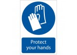 'Hand Protection' Mandatory Sign