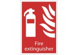 'Fire Extinguisher' Fire Equipment Sign