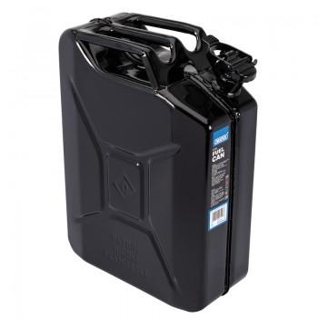 20L Steel Fuel Can (Black)