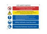 'Site Safety' Notice