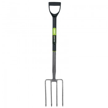 Extra Long Carbon Steel Garden Fork