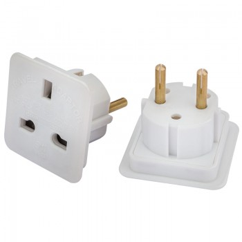 European Travel Adaptors (Pack of 2)