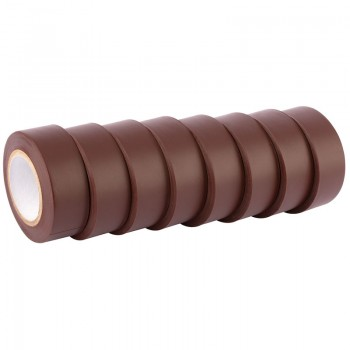 Expert 8 x 10M x 19mm Brown Insulation Tape to BSEN60454/Type2