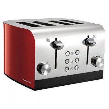 Equip 4 Slice Toaster Red