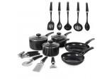 5 Piece Pan Set Black