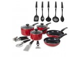 5 Piece Pan Set Red
