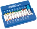 Coloured screwdriver bit set (19 piece)