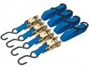 375kg Ratcheting Tie Down Strap Set (4 Piece)