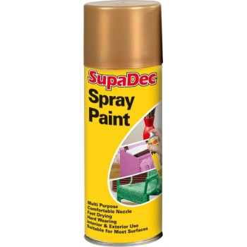 Spray Paint Gold 400ml