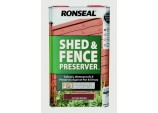 Shed Fence Preserver 5L - Autumn Brown
