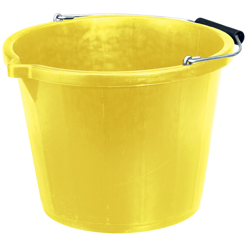 Bucket - Yellow (14.8L) – Now Only £3.55