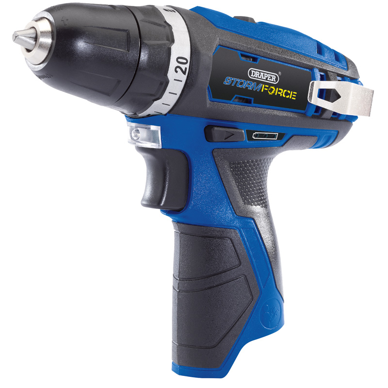 Draper Storm Force® 10.8V Cordless Rotary Drill - Bare – Now Only £36.43
