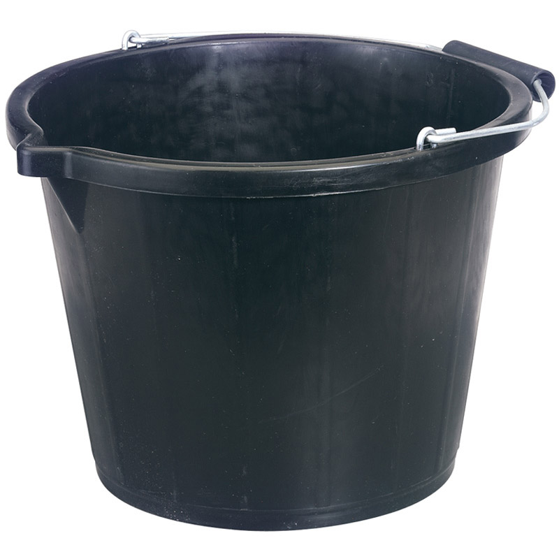 Bucket - Black (14.8L) – Now Only £1.90