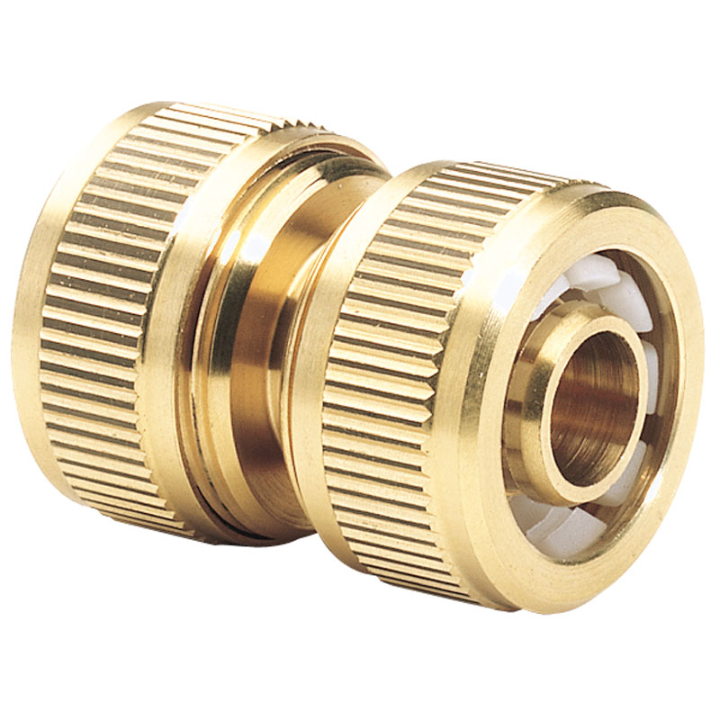"""Brass Hose Repair Connector (1/2"""") – Now Only £3.26"""