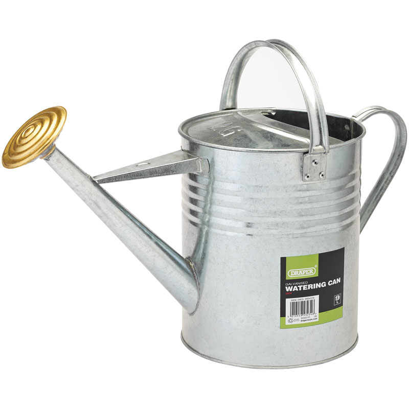 Galvanised Watering Can (9L) – Now Only £12.78