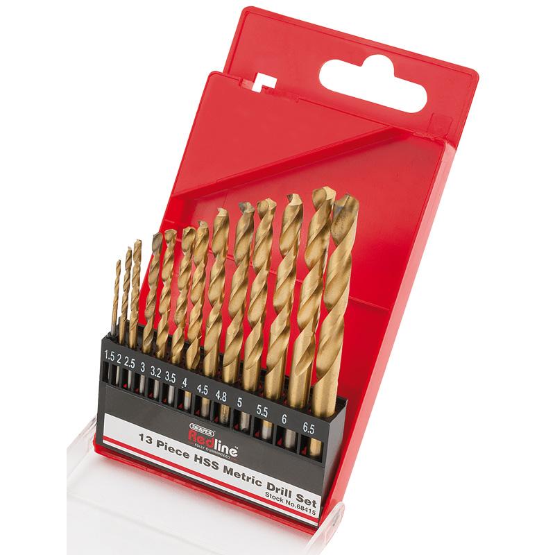HSS Metric Twist Drill Set (13 Piece) – Now Only £4.51
