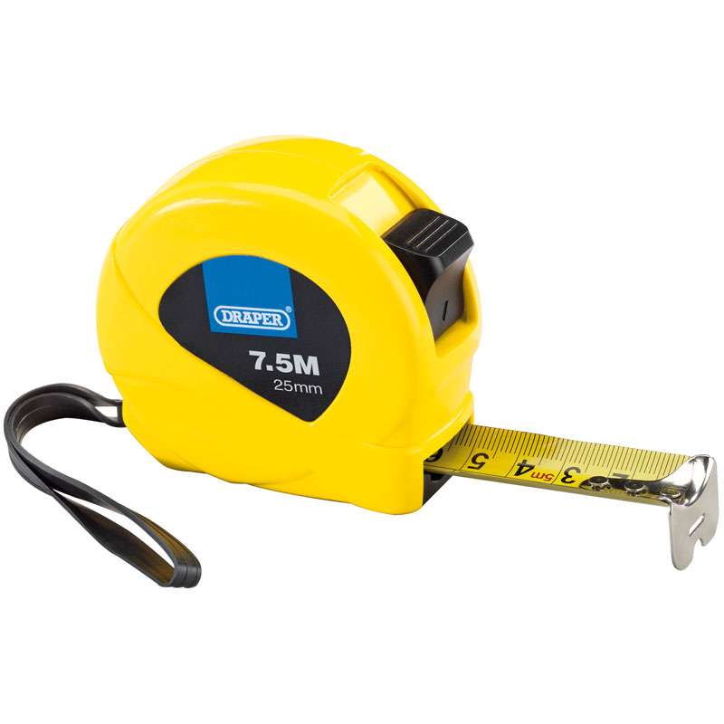Measuring Tapes (7.5M/25ft) – Now Only £4.17