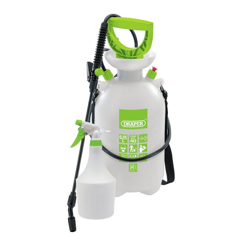 Pressure Sprayer (6.25L) with Mini Sprayer (1L) – Now Only £12.19