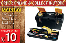 """19"""" Tool Box – Now Only £10.00"""