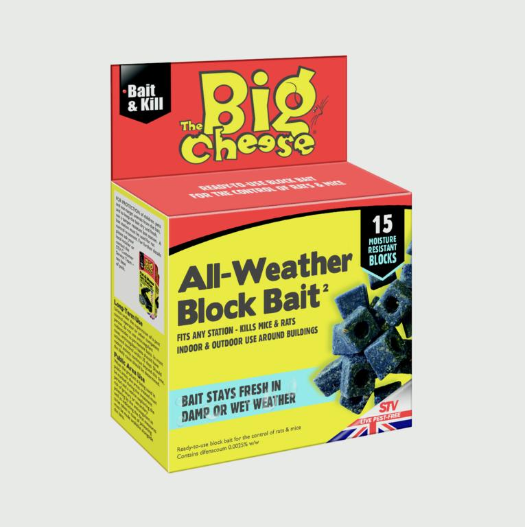 All Weather Block Bait 15x10g – Now Only £3.50