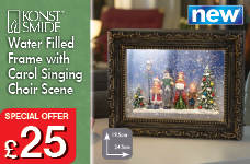 NEW Water Filled Frame with Choir.  – Now Only £25.00