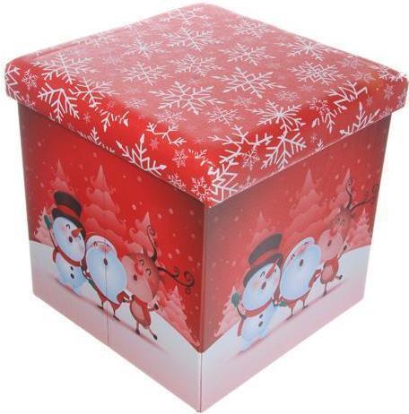 38 X 38cm Foldable Santa pals storage box – Now Only £15.00