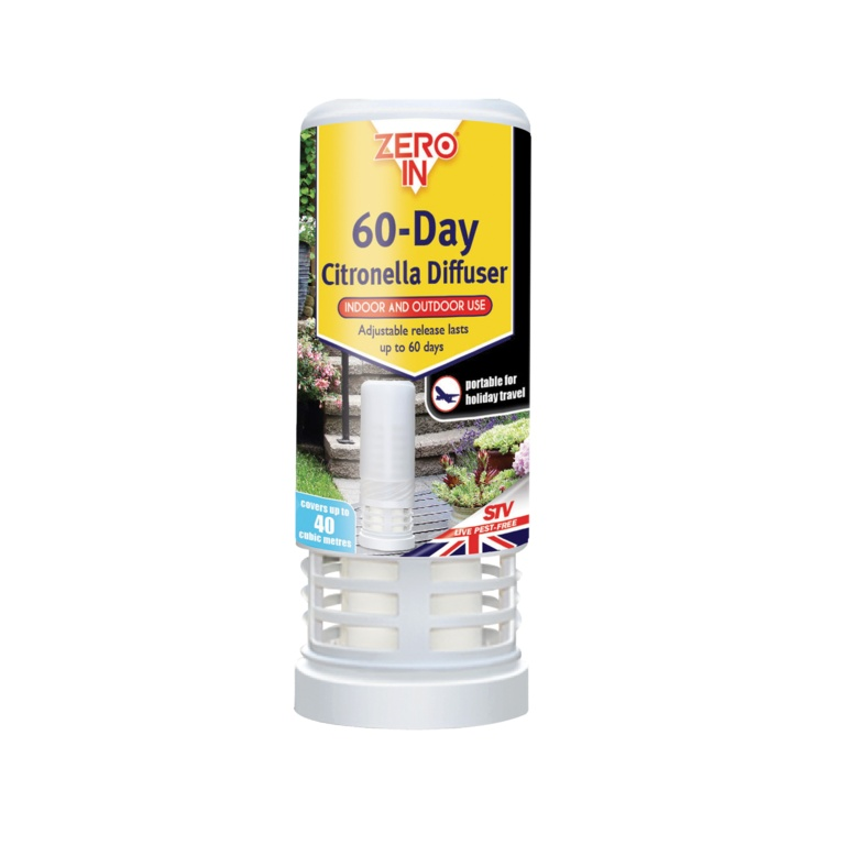 60 Day Citronella Diffuser – Now Only £4.00