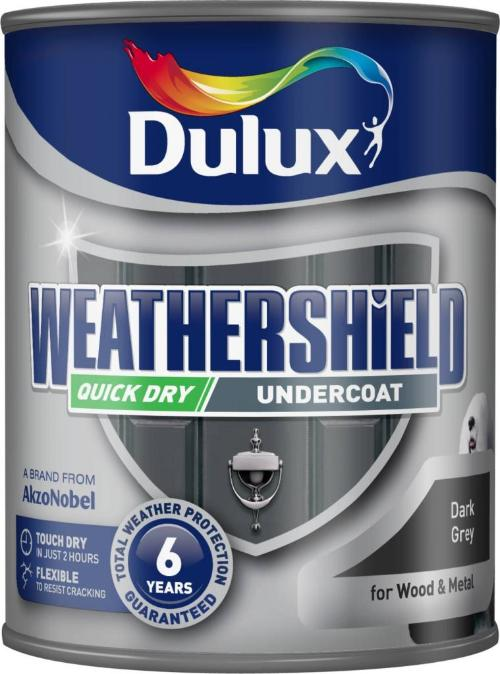 Quick Drying Undercoat 750ml Dark Grey – Now Only £15.00