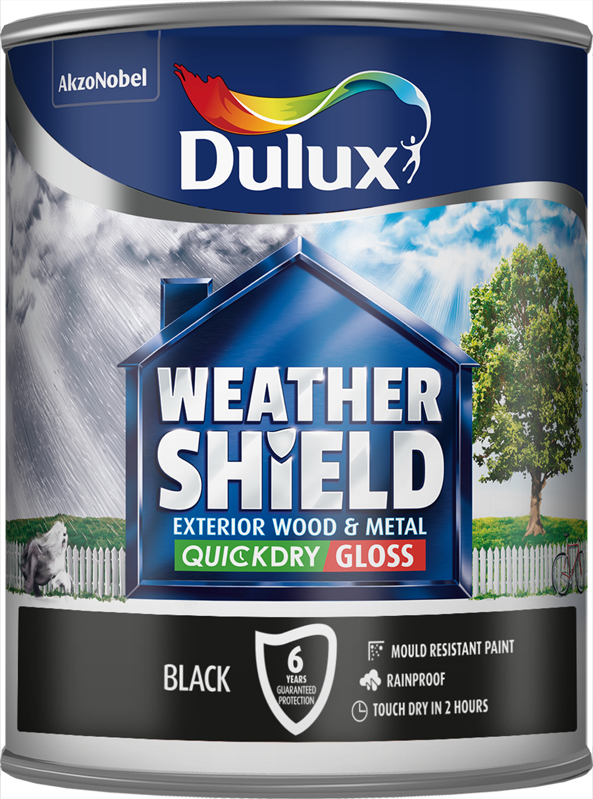 Exterior Quick Dry Gloss 750ml Black – Now Only £15.00