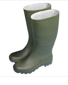 Essentials Full Length Wellington Boots  - Size 8 Euro 42 – Now Only £10.00