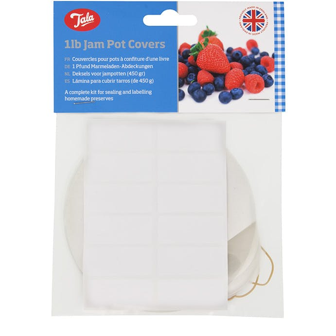 Jam Pot Covers 1llb – Now Only £1.50