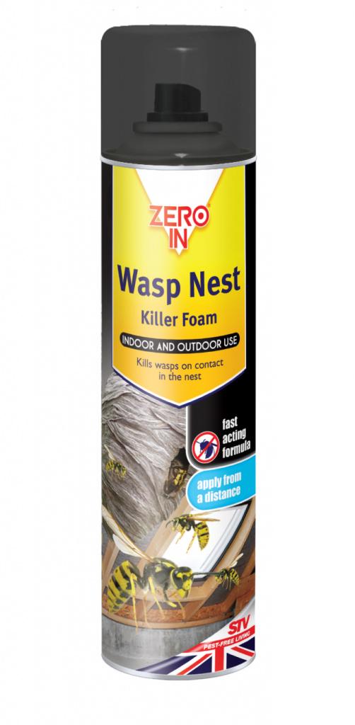 Wasp Nest Killer Foam 300ml Aerosol – Now Only £4.00