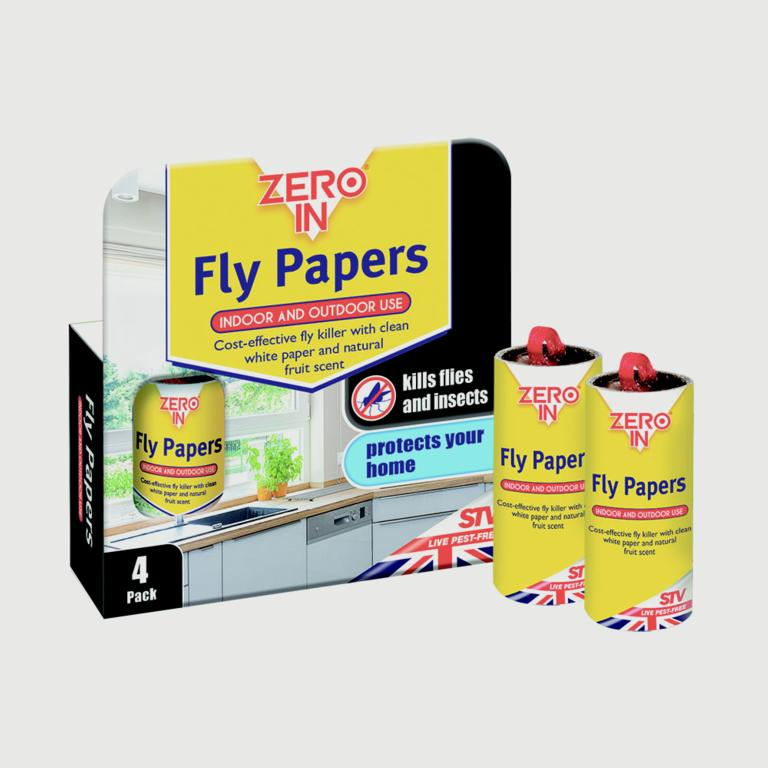 Fly Papers - 4 Pack – Now Only £1.50