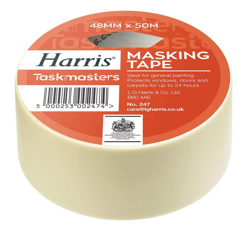 Masking Tape 48mm x 50m – Now Only £2.50