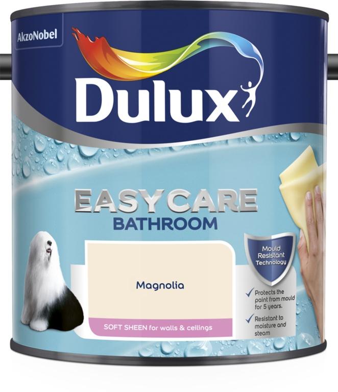 Easycare Bathroom Soft Sheen 2.5L  - Magnolia - No 6 – Now Only £20.00