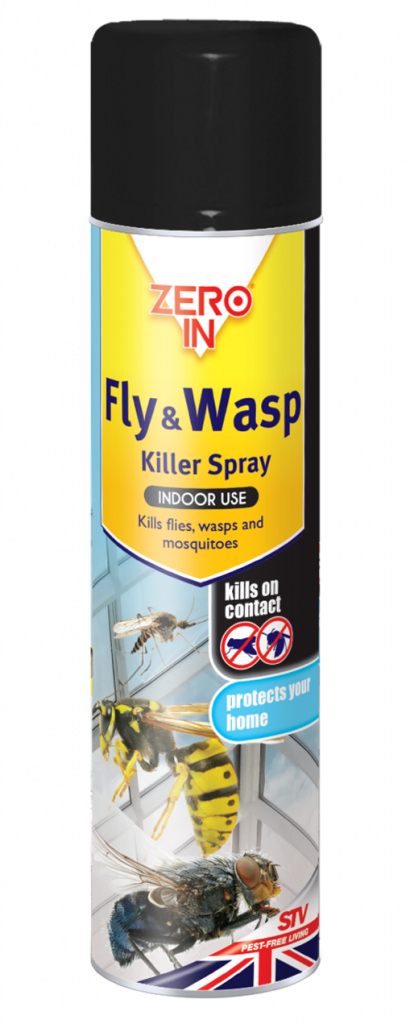Fly & Wasp Killer 300ml Aerosol – Now Only £2.00