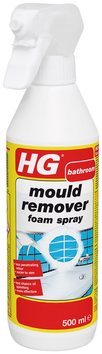 Mould Remover Foam Spray 500ml – Now Only £4.00