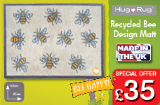 Bee Design Mat 65cm x 85cm – Now Only £35.00