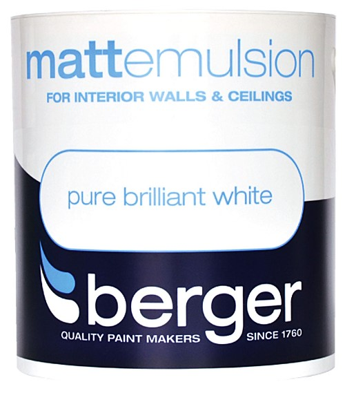 1L Vinyl Matt Emulsion Pure Brilliant White – Now Only £7.50