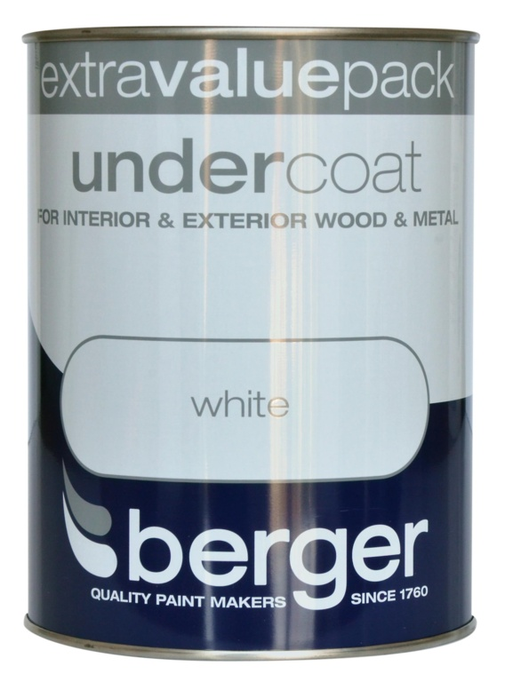 1.25L Pure Brilliant White - Undercoat – Now Only £9.00