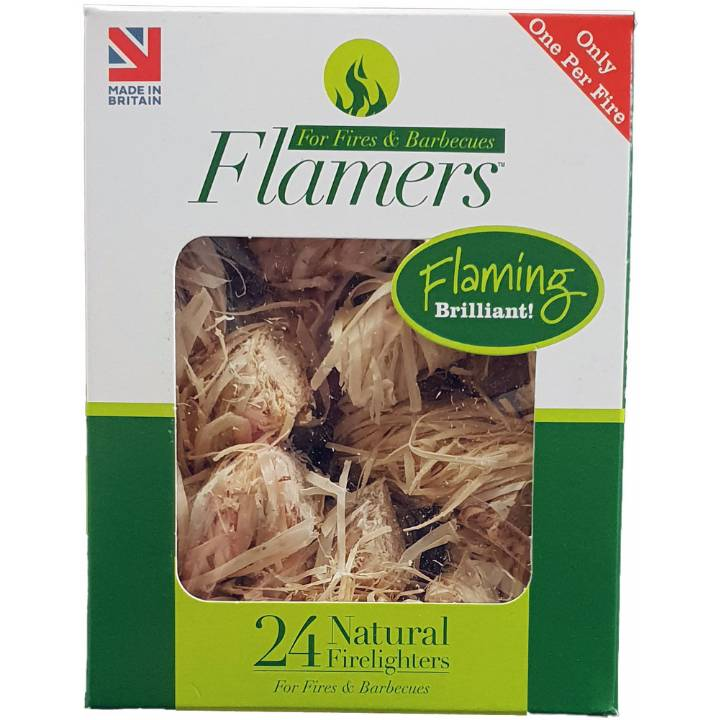 24 Pack of Odourless Firelighters  – Now Only £3.00