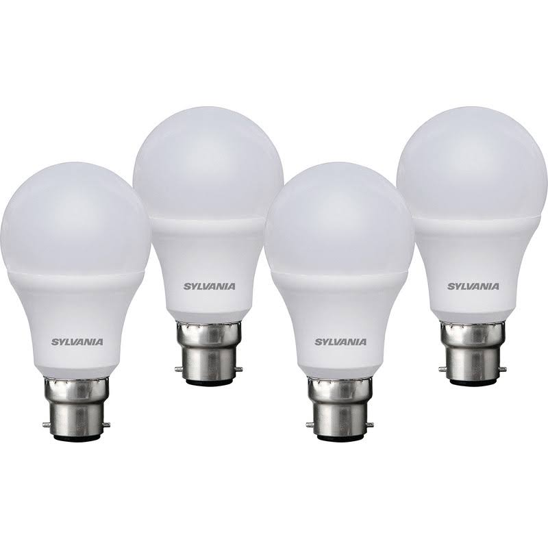 4 Pack of 60w GLS LED B22 Light Bulbs – Now Only £6.00