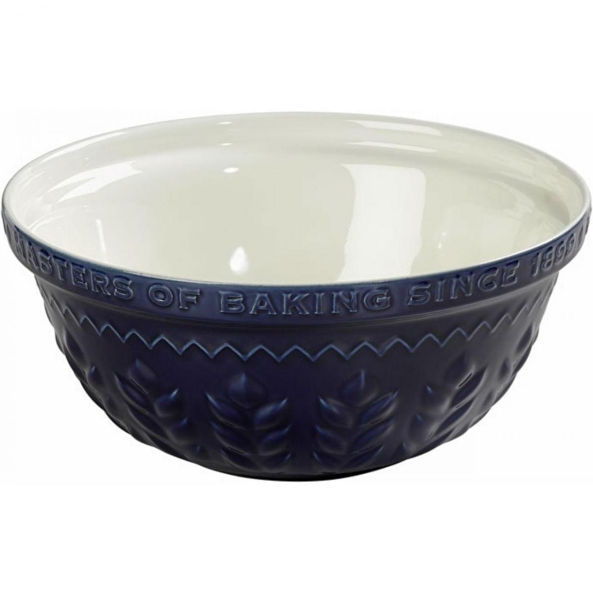 Indigo and Ivory Corn Design 30cm Mixing Bowl – Now Only £14.00
